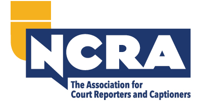 Logo for the National Court Reporters Association