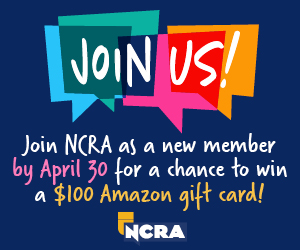 Now is the time..Join NCRA