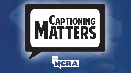 Captioning Matters logo