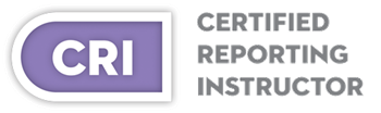 Certified Reporting Instructor