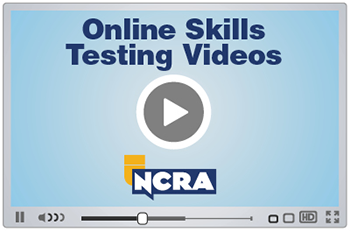 Online Skills Testing Video graphic