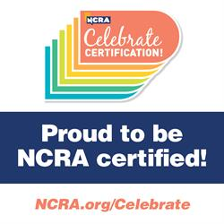 Social media image_Proud to be NCRA certified