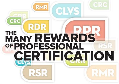 Certifications Rewards HL