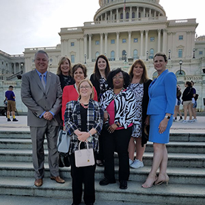 NCRA members on Hill Day