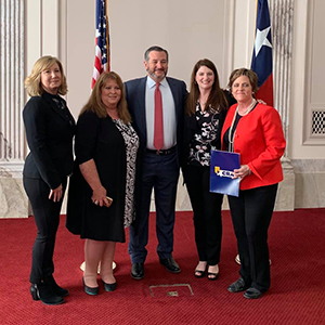 NCRA members with Sen. Ted Cruz (R-TX)
