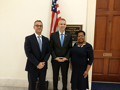 NCRA Members with Rep. Anthony Brindisi (D-NY)
