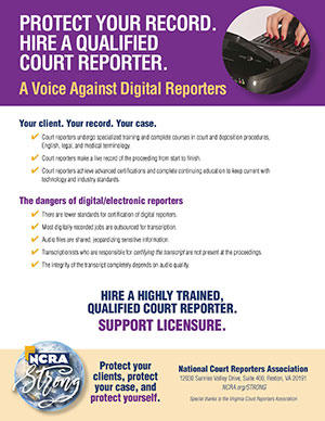 NCRA-Strong---Voice-agains-Digital-Reporters-flyer