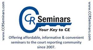 CCR Seminars