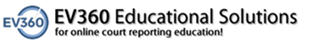 College of Court Reporting sponsor logo