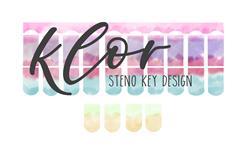 KLOR Steno Key Design