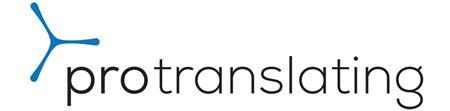 Protranslating sponsor logo