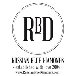 Russian Blue Diamonds Exhibitor logo