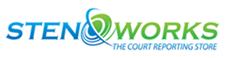 Stenoworks sponsor logo